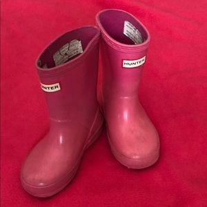 Pink Toddler Hunter Boots